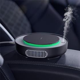 倍思 净呼吸车载空气净化器|改善空气质量  净化效率高【日用家居】