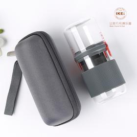 IKE一柯旅行茶具不锈钢滤网茶具|做工精细  旅游便携带【日用家居】