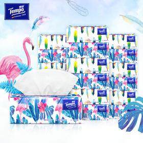 Tempo得宝软抽纸巾 Mini系列4层加厚80抽18包整箱装