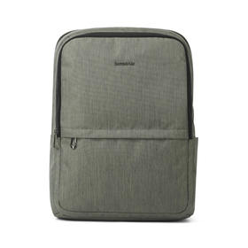 Samsonite/新秀丽 时尚双肩电脑包男灰绿色|防泼水性能  轻松无重感【日用家居】