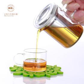 一柯YK-C308A耐热玻璃茶具旅行茶具套装|耐热玻璃  旅游便携带【日用家居】