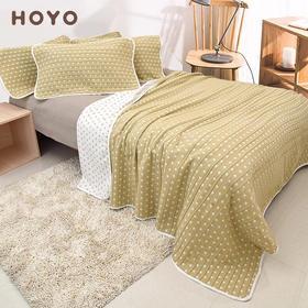 HOYO牛皮纸多功能毛毯礼盒装|日本进口 纯棉毯  夏凉薄被【日用家居】