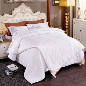 JDYMCS001二合一蚕丝羊毛暖心被200*230|优质面料  静享好睡眠【日用家居】