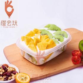 【水果捞】凤梨+奇异果水果捞
