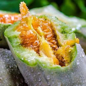 山东羊角蜜甜瓜5斤包邮批发应季时令水果新鲜当季生鲜脆瓜小香瓜