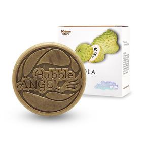 韩国进口Bubble ANGEL泡沫天使番荔枝护肤卸妆洁面皂 适用于中性肌肤