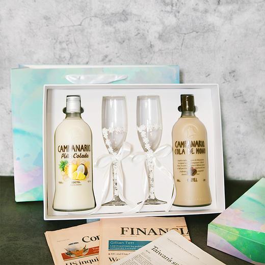 [卡裴娜梦幻微醺礼盒]卡裴娜利口酒 700ml*2瓶(两种组合可选)+蕾丝蝴蝶高脚杯*2 商品图4