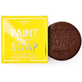 韩国进口chireureu蜂王浆&可可卸妆洁面皂  洁面护肤保湿三合一