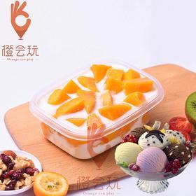 【冰淇淋果捞】芒果水果捞