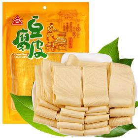 川珍 豆腐皮 200g 油豆皮腐竹干豆皮干货特产豆制品火锅食材凉拌麻辣烫-874502
