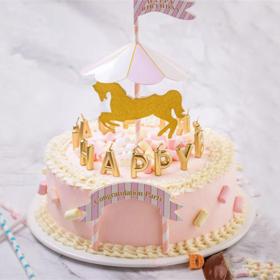 童趣·珍藏创意卡通可爱公主生日蛋糕.dg