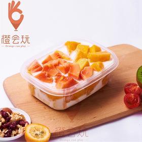 【水果捞】木瓜+芒果水果捞