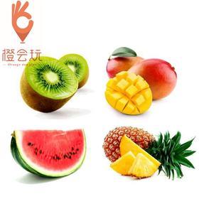 【四拼】芒果+奇异果+凤梨+西瓜 450g