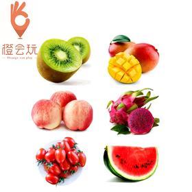 【六拼】奇异果+火龙果+西瓜+圣女果+水蜜桃+芒果1000g