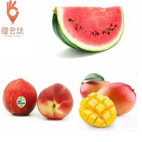 【三拼】澳洲水蜜桃+西瓜+芒果 250g
