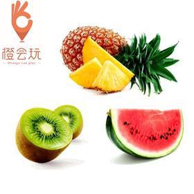 【三拼】 凤梨+西瓜+奇异果 250g