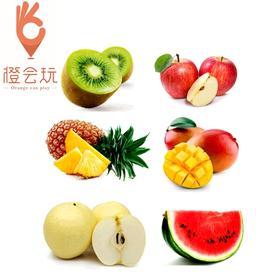 【六拼】芒果+奇异果+凤梨+西瓜+梨+苹果 1000g