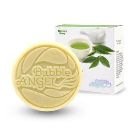 韩国进口Bubble ANGEL 护肤卸妆洁面皂 绿茶/黄油/西柚/番荔枝/火山灰