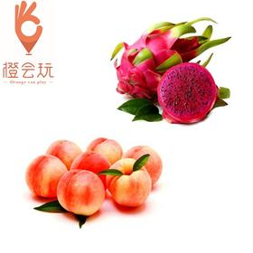 【双拼】水蜜桃+火龙果 250g