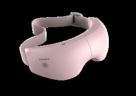 国西屋眼部按摩仪芭比粉1个|热敷护眼 眼部音乐眼罩【个护清洁】