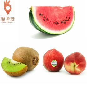 【三拼】奇异果+西瓜+澳洲水蜜桃 250g