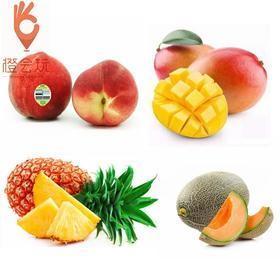 【四拼】澳洲水蜜桃+凤梨+西瓜+芒果 450g