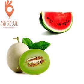 【双拼】 玉菇蜜瓜+西瓜 250g