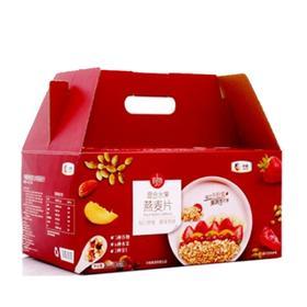 中粮时怡优选混合水果燕麦片900g/30袋/盒  元气活力随心餐