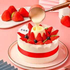 创意火锅蛋糕·可以蘸着吃的蛋糕