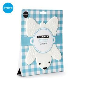 OTOTO懒熊狮子隔热垫餐桌垫家用防烫创意可爱硅胶菜垫碗垫