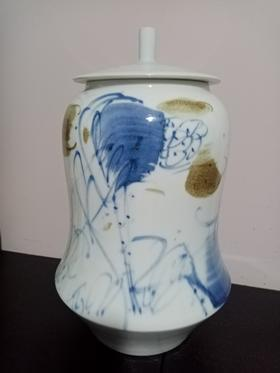 朱拙彩墨瓷瓶系列22-40cm