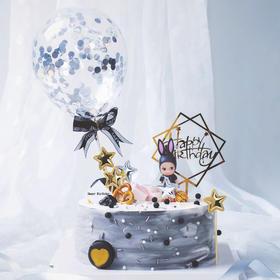 告白气球·浪漫情景生日蛋糕.dg
