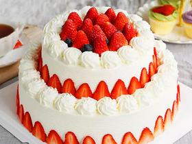 草莓之恋·双层鲜果蛋糕.dg