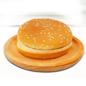 汉堡面包6个+调味包5包(番茄沙司、甜辣味随机)
