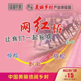 源东-网红桥门票(限源东景区自提)
