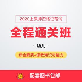2020上幼儿教师资格证笔试全程通关班-综合素质+教育教学知识与能力