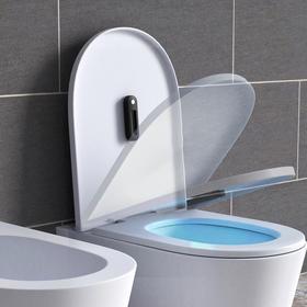 【预防马桶交叉感染】迷你马桶防水杀菌器、紫外线杀菌灯  智能感应自动消毒