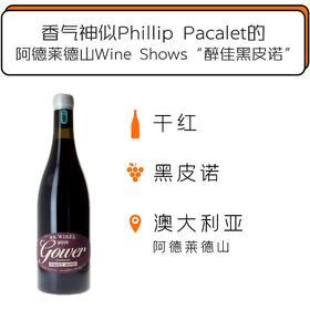 2018年毕克精选高尔黑皮诺干红葡萄酒 BK Wines Gower Pinot Noir 2018