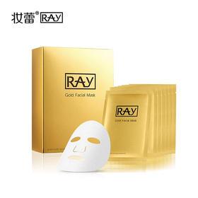 泰国妆蕾RAY金色蚕丝面膜10片装 紧致修复提亮