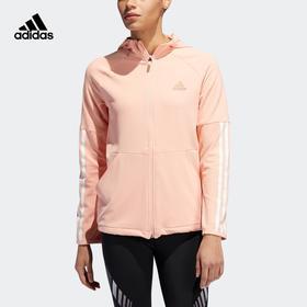 【特价】Adidas阿迪达斯 3S FZ Hoodie 女款运动连帽外套