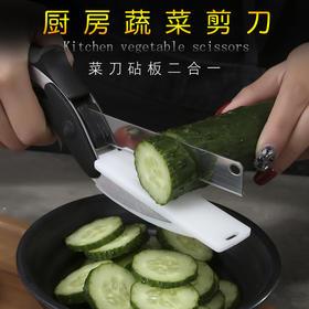 厨房多功能剪切菜板二合一