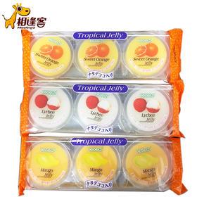 可康牌热带水果味果冻(含椰纤果)240g