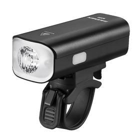 N500雷夫曼自行车充电前灯 强光夜骑 灯码表底座下吊装