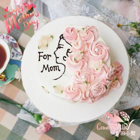 2020 母亲节蛋糕+玫瑰康乃馨花束