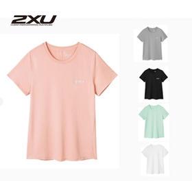 澳大利亚 2XU春季新款女子运动T恤健身跑步短袖宽松吸汗训练T恤超轻速干244007A