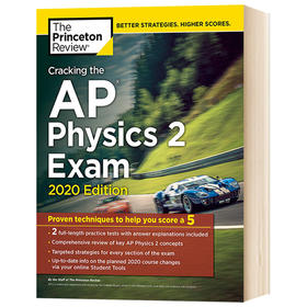 英文原版 攻克破解AP物理学2考试2020版 Princeton Review Cracking the AP Physics 2 Exam 2020 Edition 普林斯顿AP物理考试用书