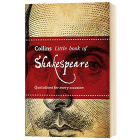 莎士比亚语录 英文原版小说书籍 Collins Shakespeare Quotations for every occasion