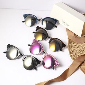 防紫外线偏光百搭墨镜 眼镜