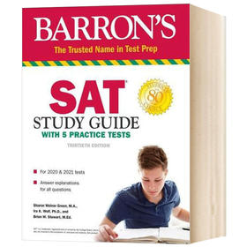 巴朗SAT考试学习指南 SAT Study Guide with 5 Practice Tests
