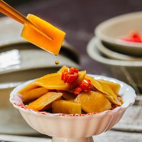 手工酸辣萝卜皮 450g/罐 冰镇口感更佳 夏天消暑神器 多种辣度可选择 自种食材 纯手工腌制 不添加无防腐剂